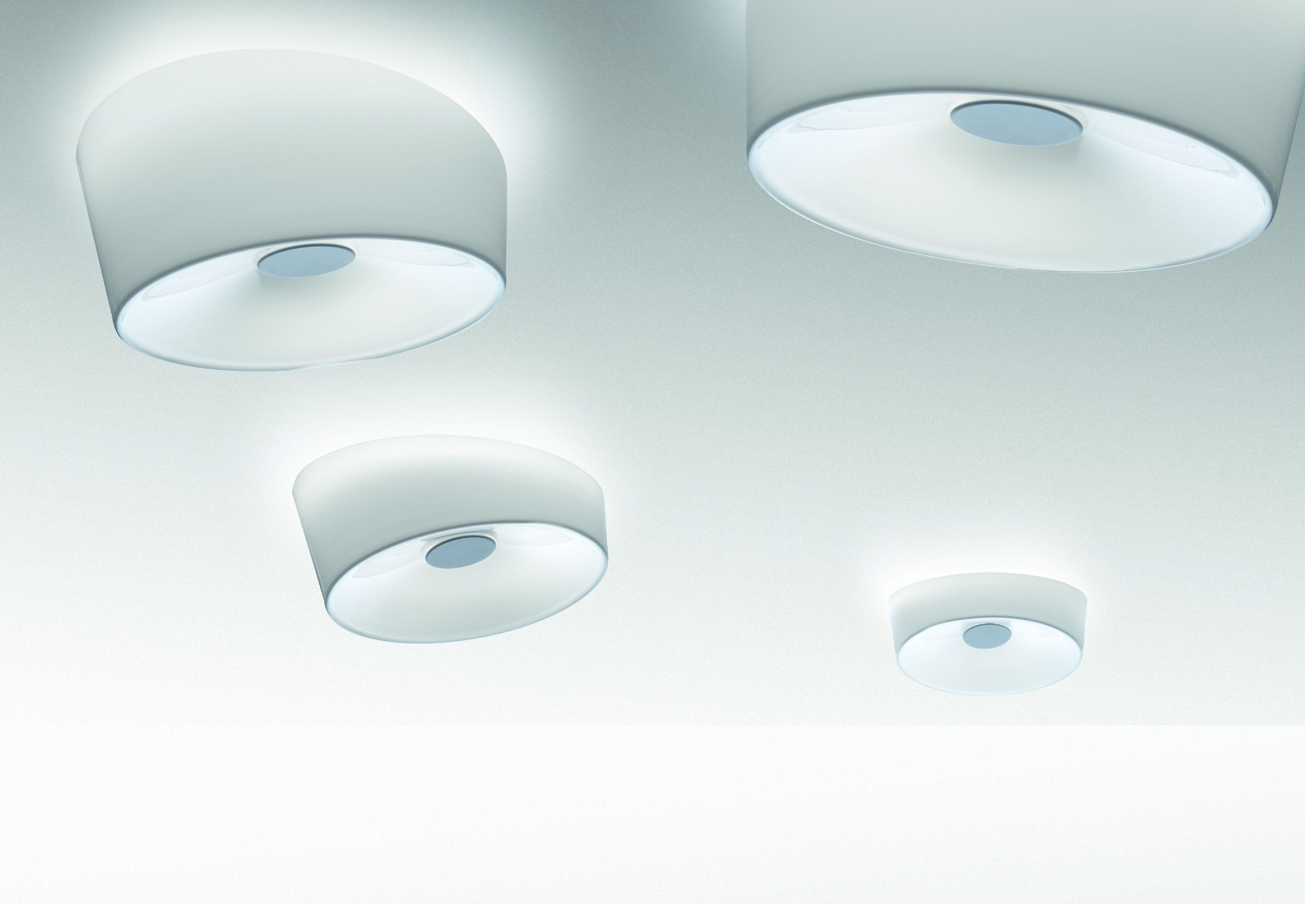 Plafoniera Foscarini : Scopri plafoniera lumiere xxl bianco di