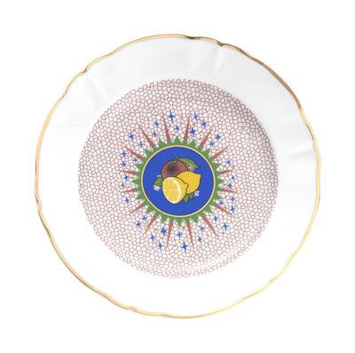 Tableware - Plates - Bel Paese - Limone Plate - / Ø 20.5 cm by Bitossi Home - Lemon - China
