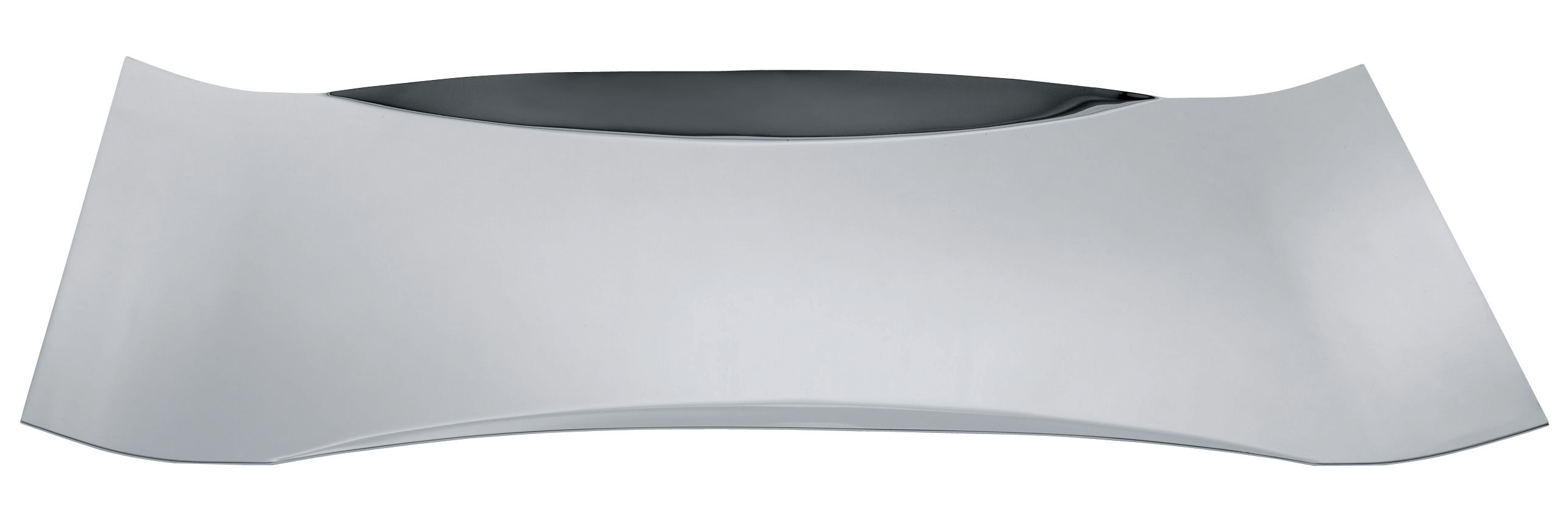 Arts de la table - Plateaux - Plateau Mao-Mao / 55 x 38 cm - Alessi - Acier - Acier inoxydable