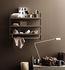 String® Pocket Metal Regal / Lochstahl - L 60 x H 50 cm - String Furniture