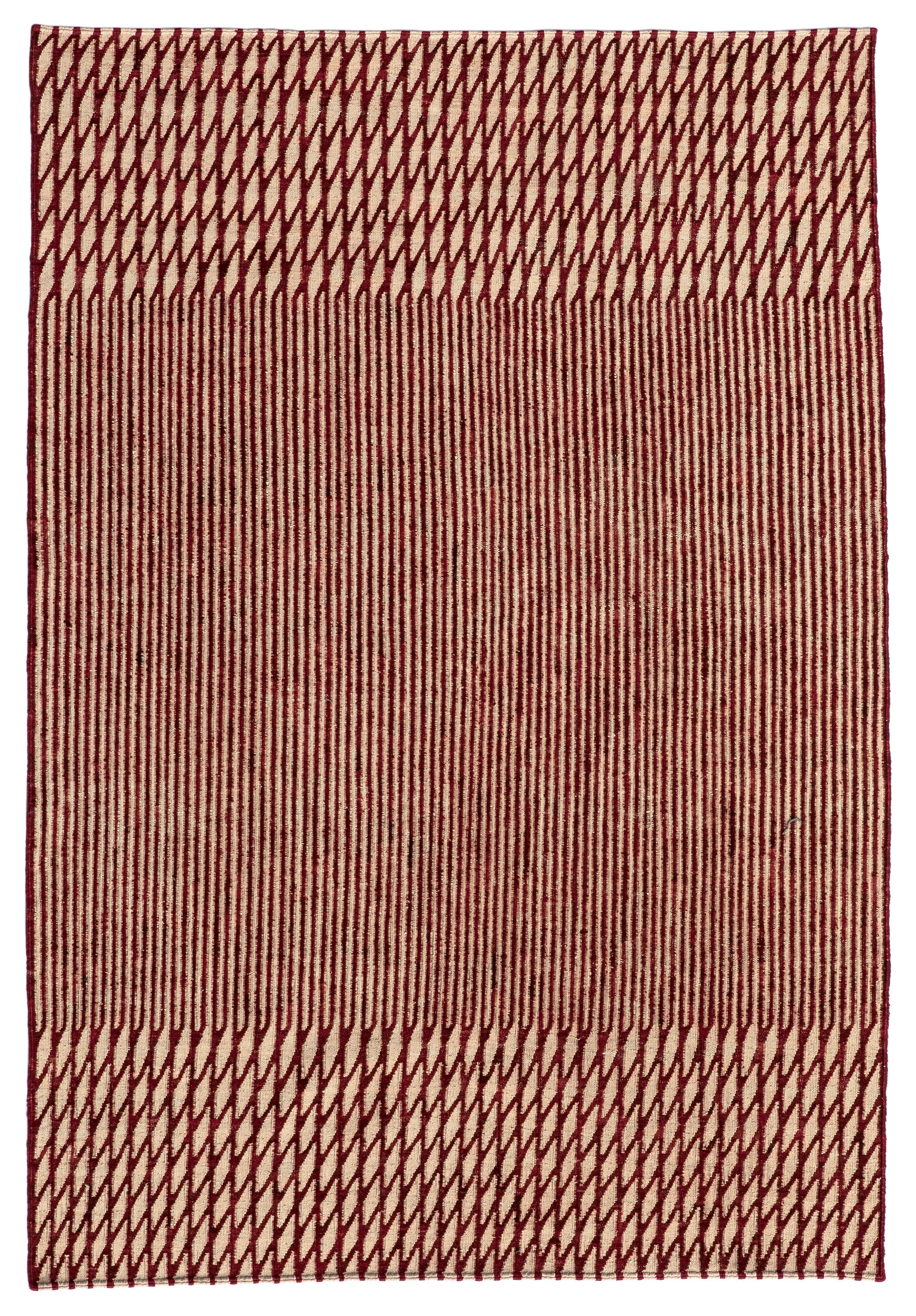 Decoration - Rugs - Blur Rug - / Afghan wool - 170 x 240 cm by Nanimarquina - Red - Wool