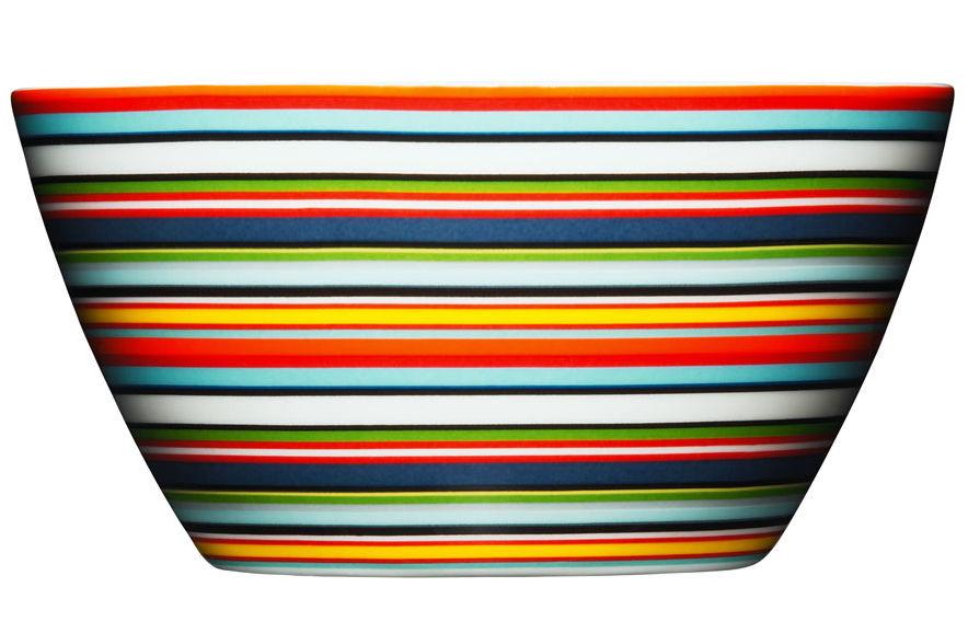 Tischkultur - Salatschüsseln und Schalen - Origo Schale - Iittala - Orange - Porzellan