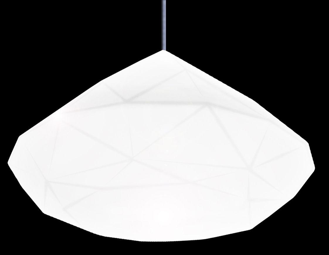 Illuminazione - Lampadari - Sospensione Bijoux di Slide - Bianco - polietilene riciclabile