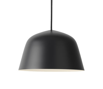 Suspension Ambit / Ø 25 cm - Métal - Muuto noir en métal