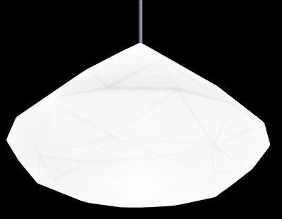 Luminaire - Suspensions - Suspension Bijoux - Slide - Blanc - polyéthène recyclable