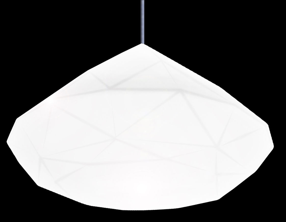 Luminaire - Suspensions - Suspension Bijoux - Slide - Blanc - Polyéthylène
