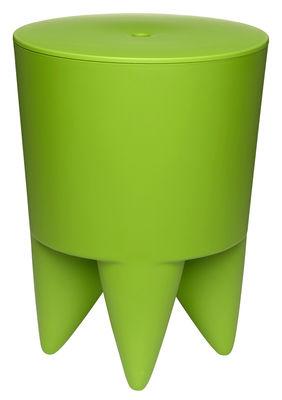 Mobilier - Tabourets bas - Tabouret New Bubu 1er / Coffre - Plastique - XO - Vert printemps - Polypropylène
