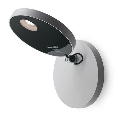 Luminaire - Appliques - Applique Demetra LED - Artemide - Blanc - Aluminium peint