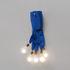 Applique con presa Luzy on the Wall - / LED - 5 lampadine di Ingo Maurer