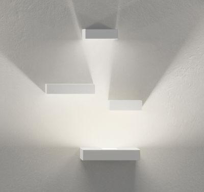 Illuminazione - Lampade da parete - Applique Set - LED / Set 4 moduli di Vibia - Bianco - metallo laccato, policarbonato