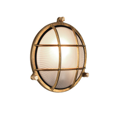 Luminaire - Appliques - Applique Thurso Round / Plafonnier - Astro Lighting - Laiton - Laiton massif, Verre
