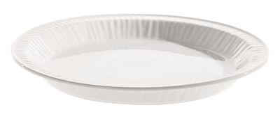 Arts de la table - Assiettes - Assiette à dessert Estetico quotidiano Ø 20 cm - En porcelaine - Seletti - Blanc / Assiette à dessert Ø 20 cm - Porcelaine