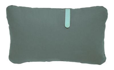 Coussin d´extérieur Color Mix / 68 x 44 cm - Fermob bleu lagune,vert safari en tissu