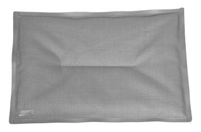 Interni - Cuscini  - Cuscino per seduta - / Per sedia Bistro di Fermob - Grigio metallo - Espanso, Tela