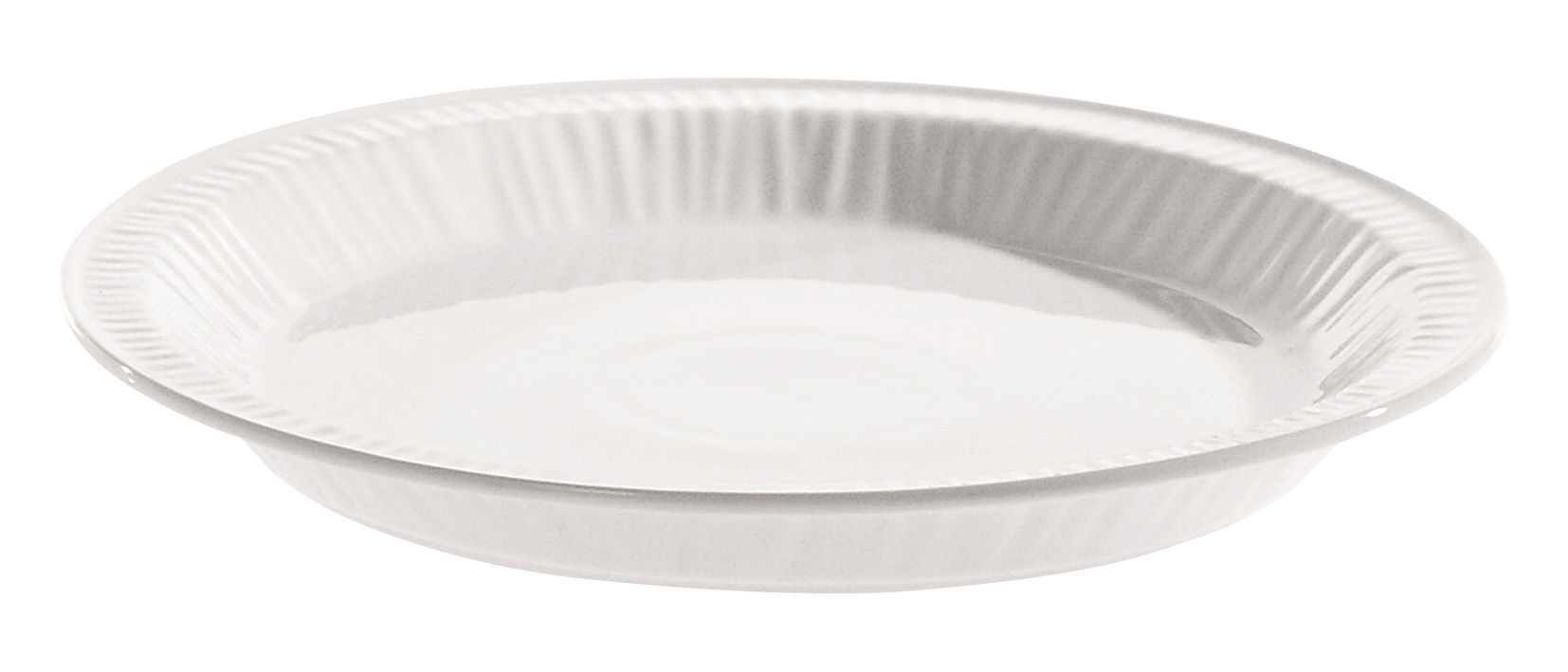 Tableware - Plates - Estetico quotidiano Dessert plate - Ø 20 cm - China by Seletti - White / Dessert plate Ø 20 cm - China