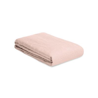 Housse de couette 200 x 200 cm / Lin lavé - Au Printemps Paris rose en tissu