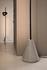 Lampada a stelo Cupido LED - / 2 paralumi - Base cemento - H 220 cm di Karman