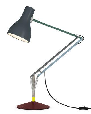 Illuminazione - Lampade da tavolo - Lampada da posa Type 75 - / By Paul Smith - Edition n°4 di Anglepoise - Rosso, Grigio, Blu, verde - Acciaio, Alluminio, Ghisa