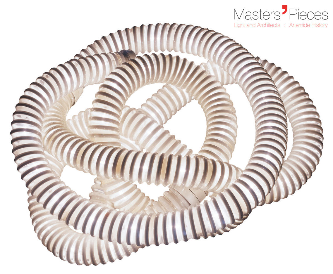 Illuminazione - Lampade da tavolo - Lampada da tavolo Masters' Pieces - Boalum - / LED - 1970 di Artemide - Bianco - Plastica
