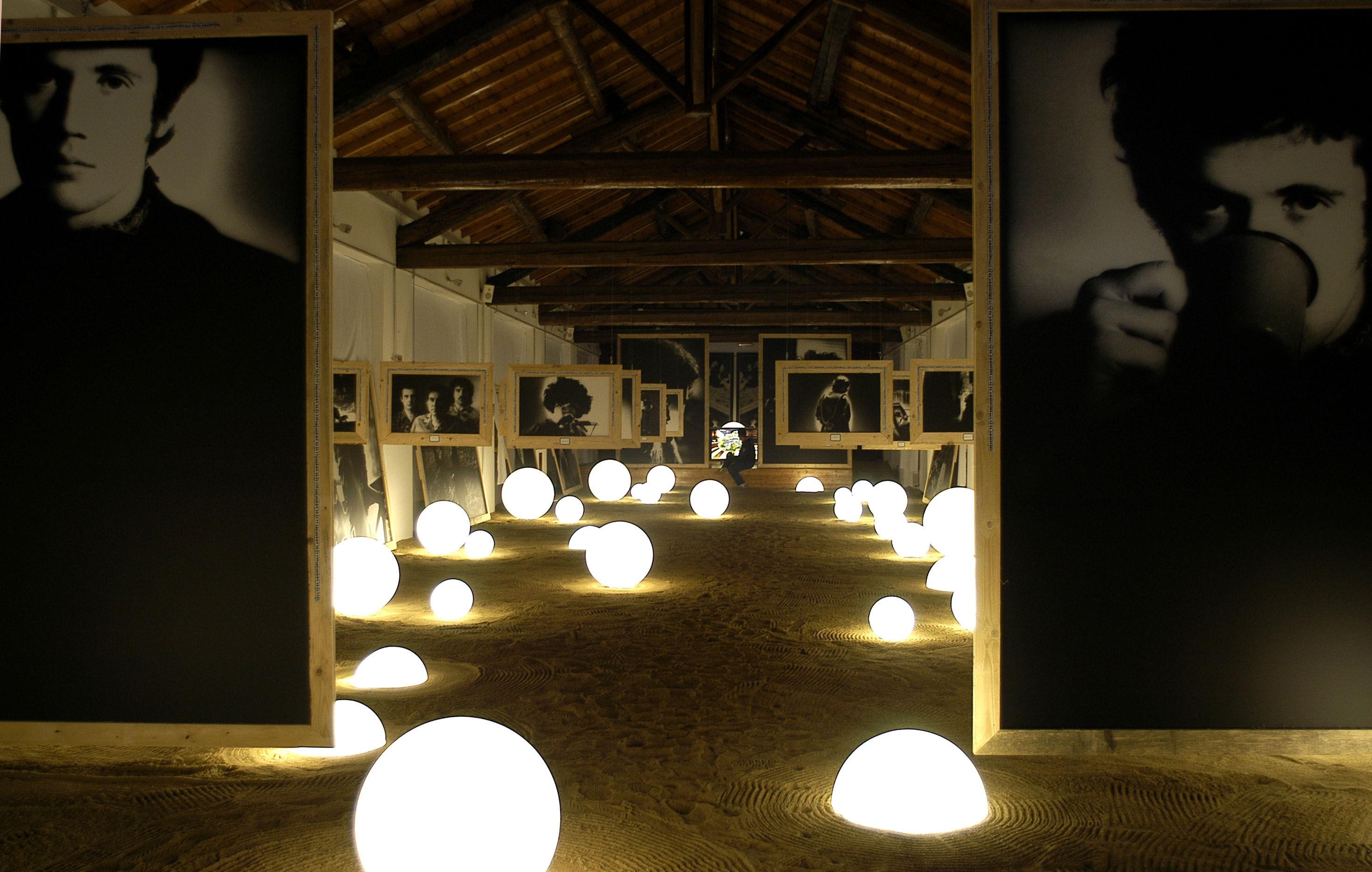Lampada senza fili globo outdoor led slide bianco esterno Ø 50