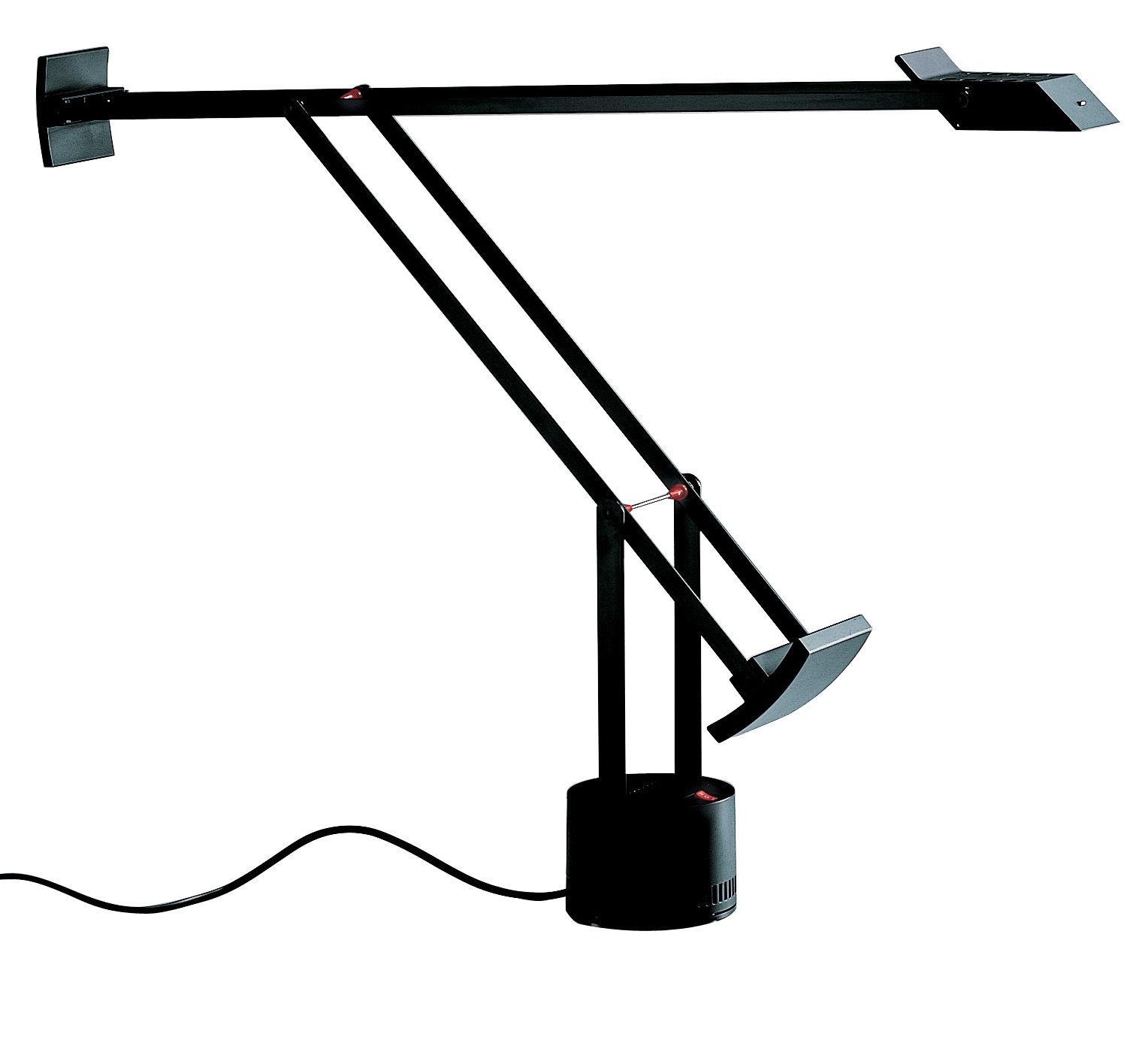Luminaire - Lampes de table - Lampe de table Tizio LED - Artemide - Noir - Métal