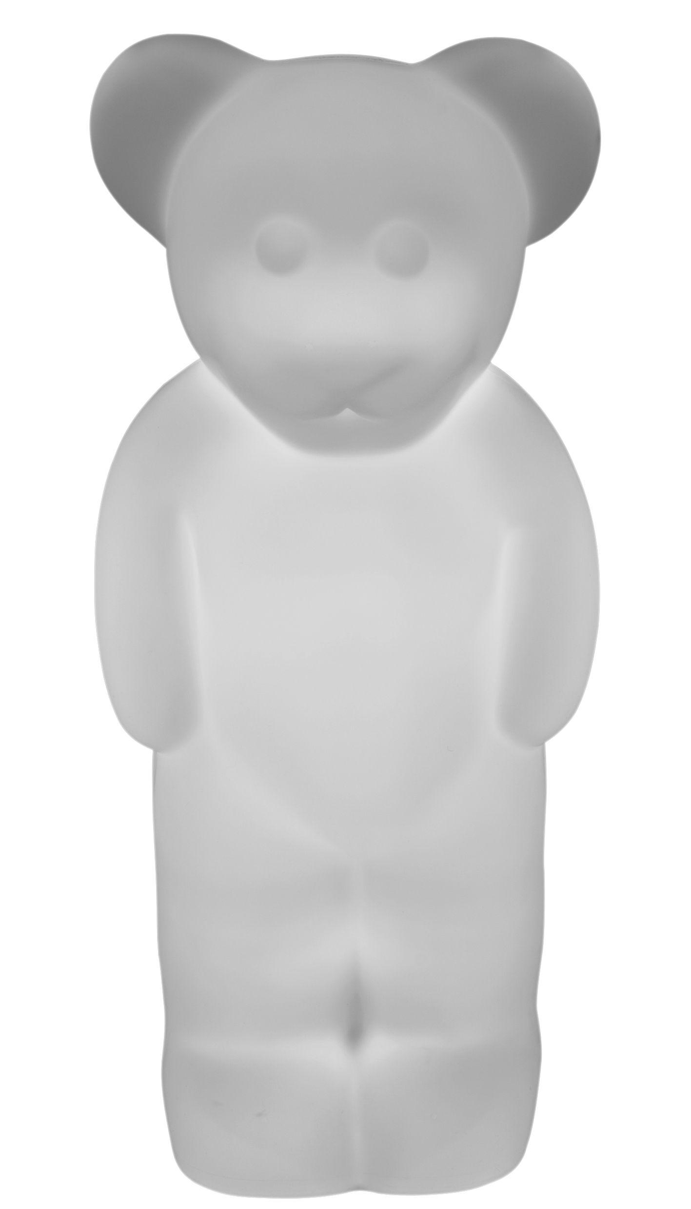 Déco - Pour les enfants - Lampe Lumibär / Veilleuse - H 58 cm - Authentics - Blanc translucide - Polyéthylène