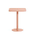 Week-End Square table - / Bistrot - Aluminium - 60 x 60 cm by Petite Friture