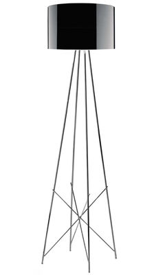 Ray F2 Stehleuchte - Flos - Schwarz