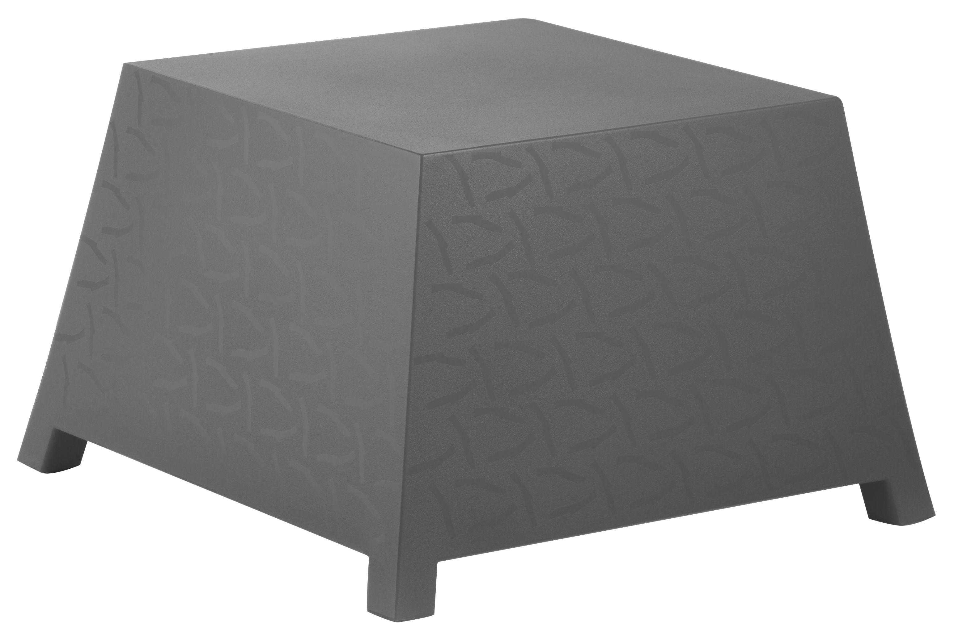 Mobilier - Tables basses - Table basse Raffy pouf - Qui est Paul ? - Gris - Polyéthylène