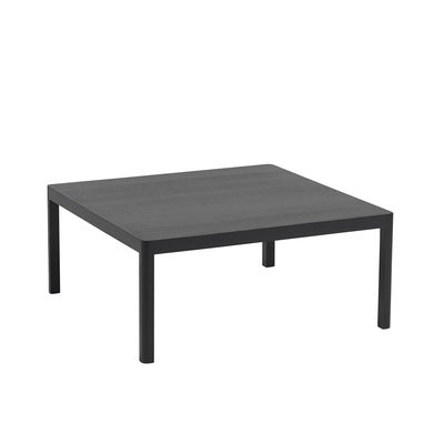 Table basse Workshop / Chêne - 86 x 86 cm - Muuto noir en bois