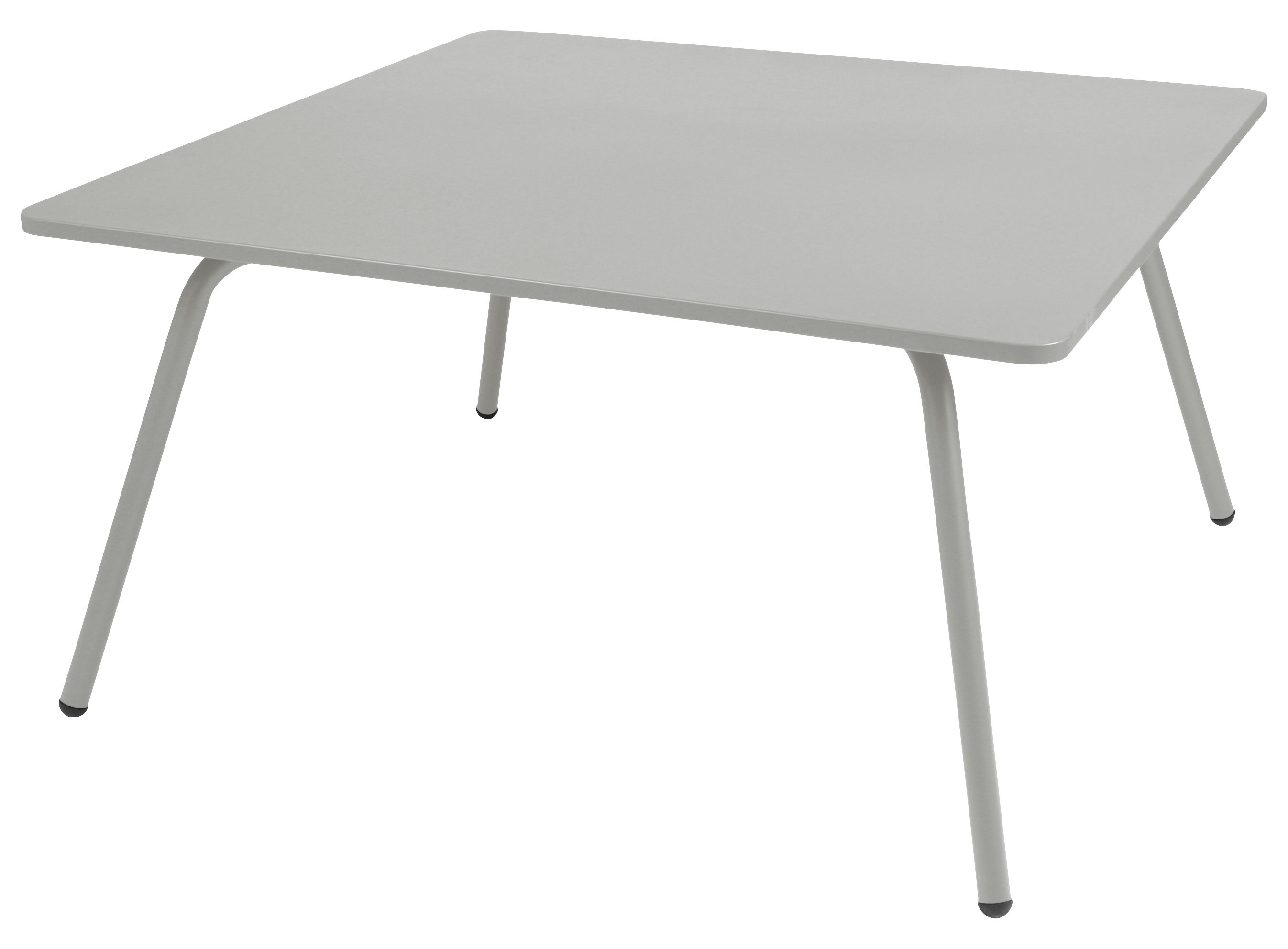 Table Cosmo / 143 x 143 cm Gris métal - Fermob
