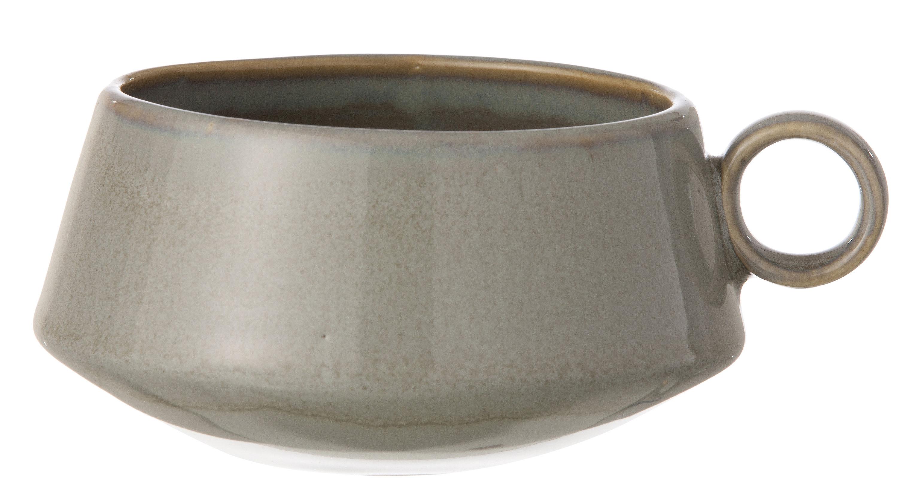 Arts de la table - Tasses et mugs - Tasse Neu - Ferm Living - Gris - Céramique émaillée