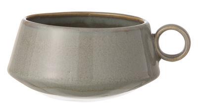 Tavola - Tazze e Boccali - Tazza Neu di Ferm Living - Grigio - Ceramica smaltata