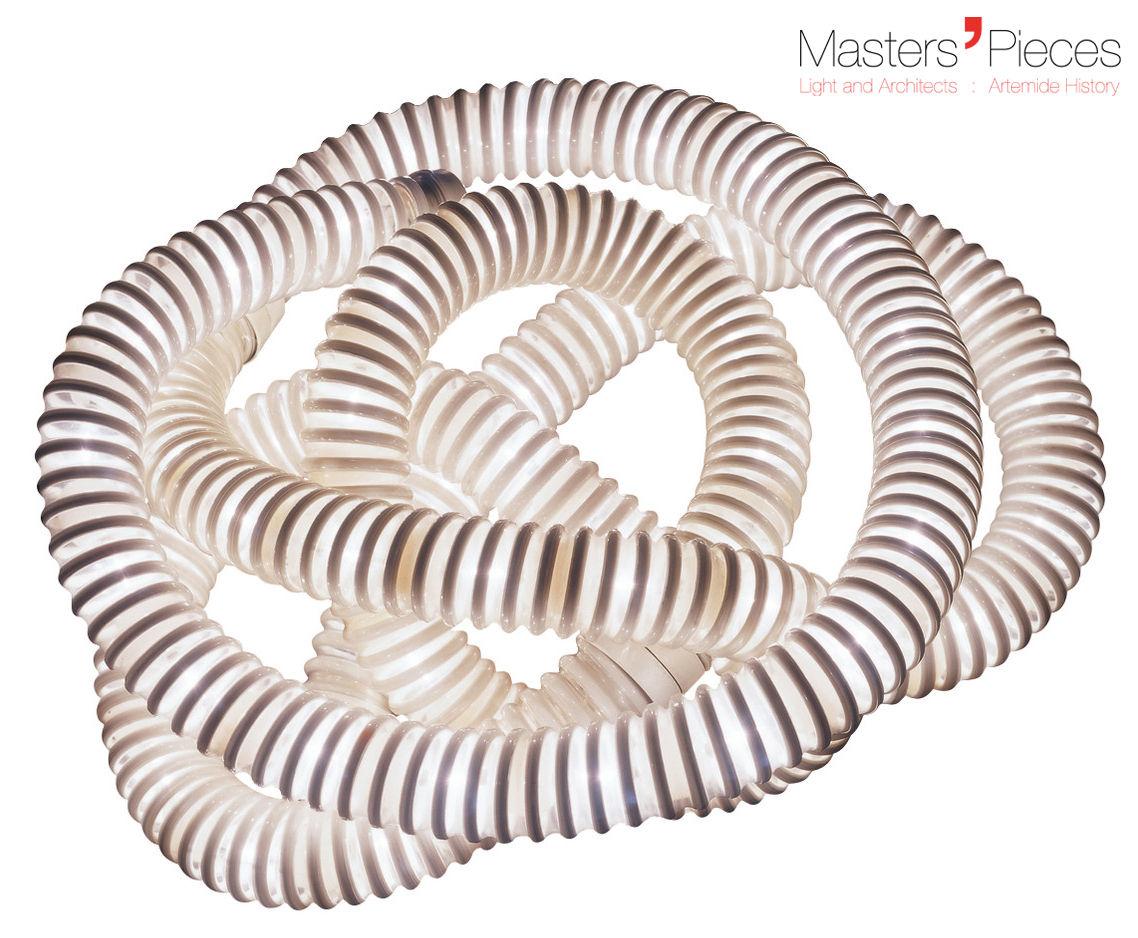 Leuchten - Tischleuchten - Masters' Pieces - Boalum Tischleuchte / LED - 1970 - Artemide - Weiß - Plastik