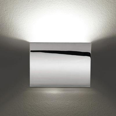 Lighting - Wall Lights - Pochette Up/Down Wall light by Flos - Chrome - Zamak