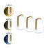 Balad Bamboo Wireless lamp - / H 12 cm - Set of 3 lamps by Fermob