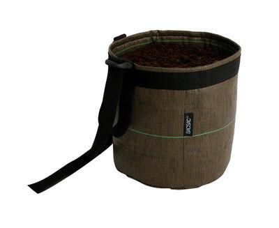 Outdoor - Töpfe und Pflanzen - Suspendu Geotextile Blumentopf zum Aufhängen 3 L - Bacsac - 3 L - braun - Geotextil-Gewebe
