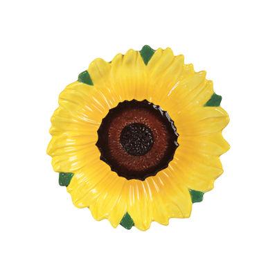 Tableware - Bowls - Tournesol Bowl - / 4 x Ø 18.5 cm by & klevering - Sunflower - Ceramic