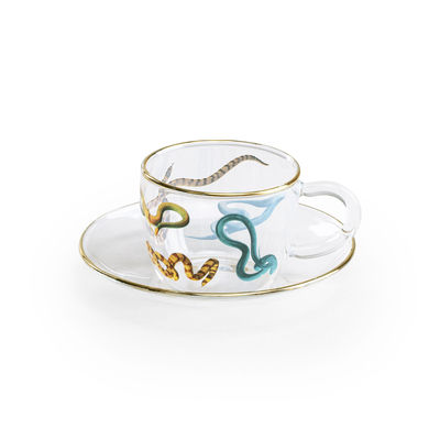 Tableware - Coffee Mugs & Tea Cups - Toiletpaper - Snakes Coffee cup by Seletti - Snakes - Borosilicated glass