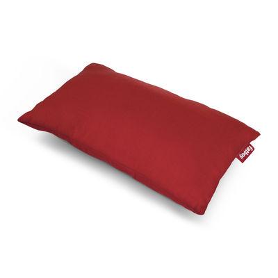 Coussin d'extérieur King OUTDOOR / Tissu acrylique - 66 x 40 cm - Fatboy rouge en tissu