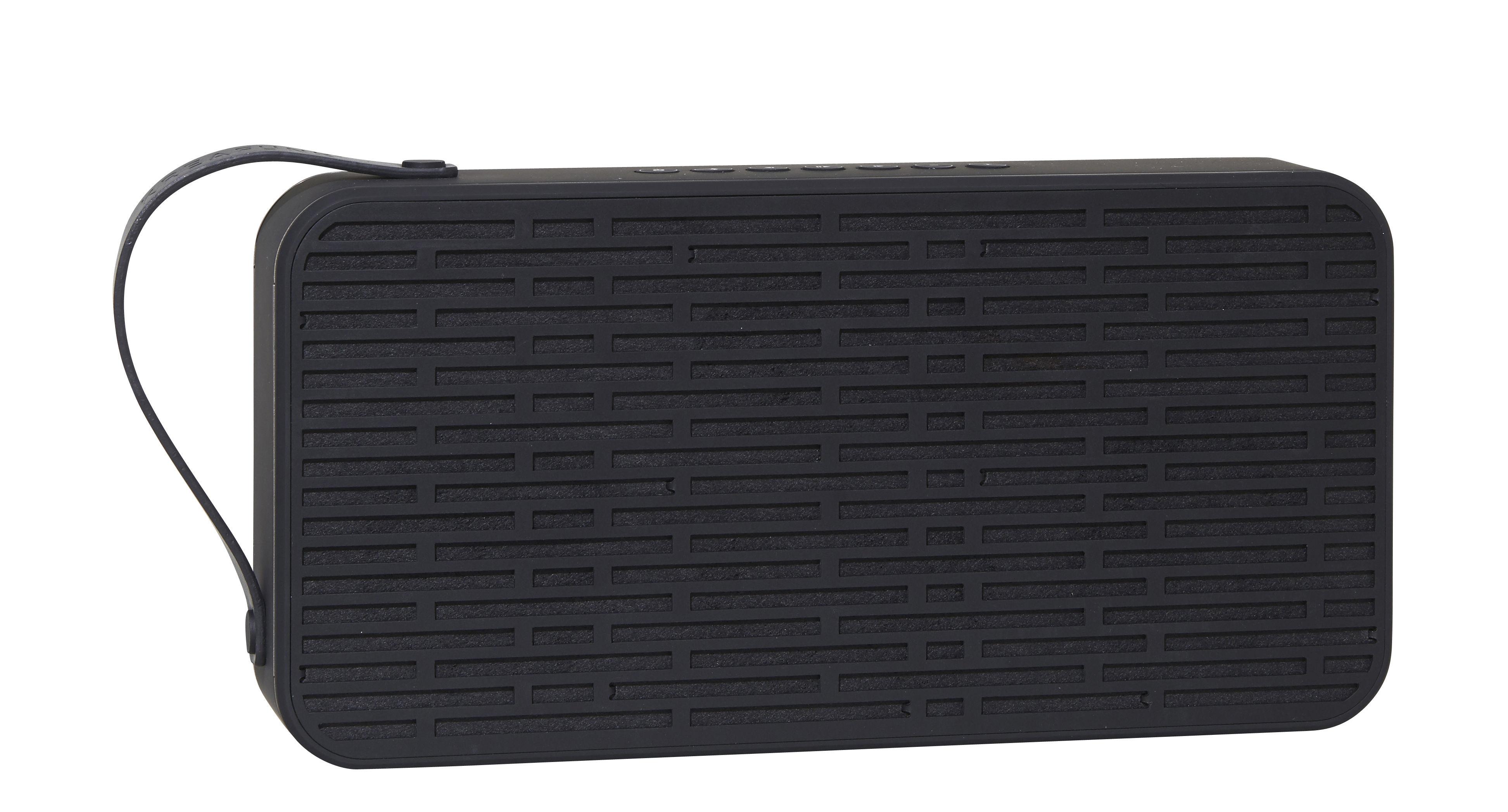 Accessoires - Enceintes audio & son - Enceinte Bluetooth aSound / Portable sans fil - Kreafunk - Noir -