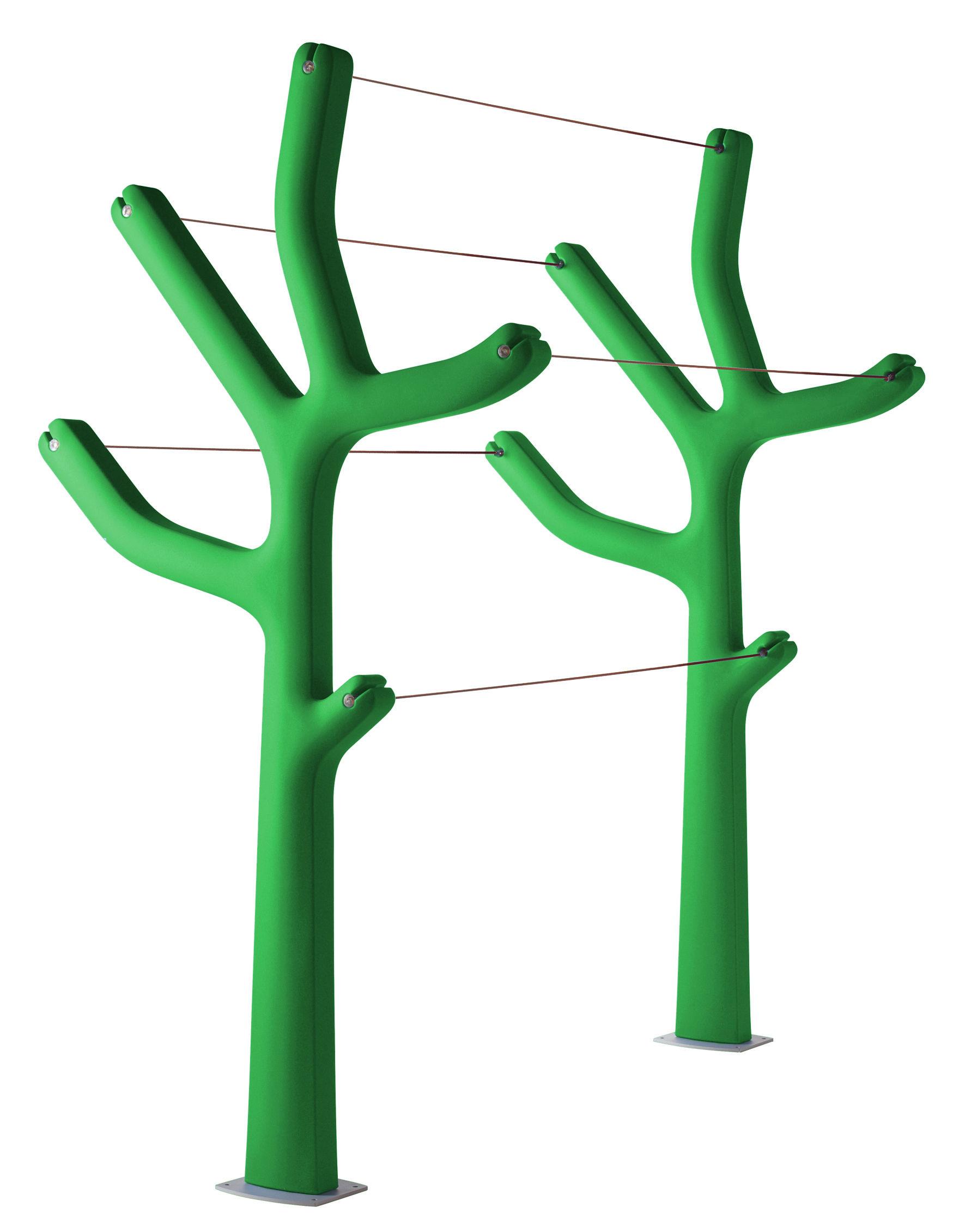 Mobilier - Compléments d'ameublement - Etendoir à linge Alberto - Casamania - Vert - Polyéthylène