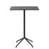 Still Café High table - / 75 x 65 cm x H 105 cm - Linoleum by Muuto
