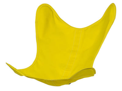 Housse Coton / Pour fauteuil AA Butterfly - AA-New Design bouton d'or en tissu