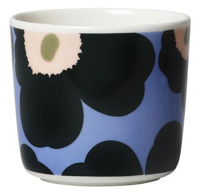 Tischkultur - Tassen und Becher - Unikko Kaffeetasse / ohne Henkel - 2er-Set - Marimekko - Unikko / hellblau - Sandstein