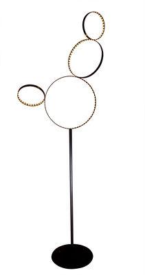 Luminaire - Lampes de table - Lampadaire Pico 5 / LED - H 199 cm - Le Deun - Noir - Acier