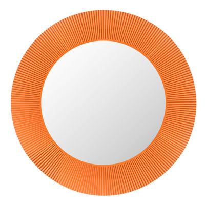 Miroir lumineux All Saints LED / Ø 78 cm - Kartell orange tangerine en matière plastique