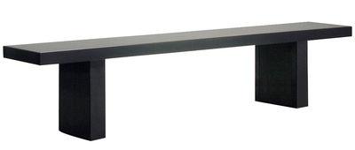 Arredamento - Panchine - Panchina Tommaso - L 210 cm di Zeus - Nero - Acciaio fosfatato