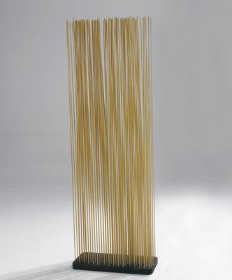 Möbel - Paravents, Raumteiler und Trennwände - Sticks Paravent L 60 x H 150 cm - für innen - Extremis - H 150 cm - natur - Fibre de verre renforcée, Recycelter Gummi