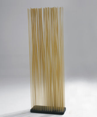Mobilier - Paravents, séparations - Paravent Sticks / L 60 x H 150 cm - Intérieur & extérieur - Extremis - Naturel - Caoutchouc recyclé, Fibre de verre renforcée